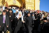 Святейший Патриарх Кирилл принял участие в праздновании Дня народного единства в Нижнем Новгороде