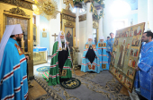 Слово Святейшего Патриарха Кирилла в день престольного праздника храма в честь иконы Божией Матери «Всех скорбящих Радость» на Большой Ордынке