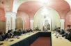 Встреча Святейшего Патриарха Кирилла с участниками российско-итальянского симпозиума по этическим аспектам банковской деятельности