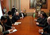 Состоялась встреча Святейшего Патриарха Кирилла с руководителями российских телеканалов