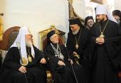 Святейший Патриарх Кирилл посетил Успенский кафедральный собор Дамаска