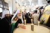 Визит Предстоятеля Русской Церкви в Антиохийский Патриархат. День первый. Посещение Успенского кафедрального собора Дамаска