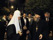 В Представительстве Русской Православной Церкви в Дамаске Святейший Патриарх Кирилл встретился с соотечественниками