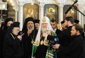 Слово Святейшего Патриарха Кирилла на молебне в Успенском соборе Дамаска