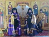 Епископ Кызыльский и Тывинский Феофан прибыл к месту служения