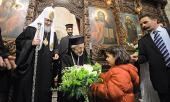 Предстоятель Русской Православной Церкви посетил Успенский Баламандский монастырь в Ливане
