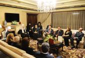 Состоялась встреча Святейшего Патриарха Кирилла с представителями ливанской государственной власти и общественности, отмеченными наградами Русской Православной Церкви