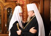 Предстоятель Русской Православной Церкви встретился с Блаженнейшим Митрополитом Варшавским и всей Польши Саввой