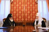 Состоялась встреча Святейшего Патриарха Кирилла с Предстоятелем Грузинской Православной Церкви