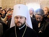 Митрополит Волоколамский Иларион: Cудьба христиан Ближнего Востока — тема для Великого Собора