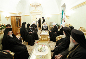 В Московском Кремле состоялась встреча Предстоятелей и представителей семи Поместных Православных Церквей