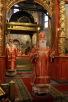 Божественная литургия в Архангельском соборе Московского Кремля в день Собора Архистратига Михаила и прочих Небесных Сил бесплотных