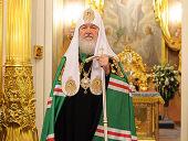 Слово Святейшего Патриарха Кирилла после Божественной литургии в Покровском монастыре г. Москвы