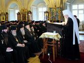 На годичном собрании духовенства Московской епархии митрополит Ювеналий представил статистические данные о ее деятельности в 2011 году