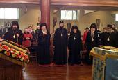 В кафедральном соборе Сурожской епархии прошло IV собрание Всеправославной архиерейской ассамблеи Британских островов