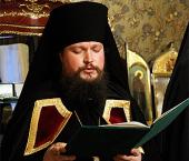 Слово архимандрита Дионисия (Порубая) при наречении во епископа Касимовского и Сасовского