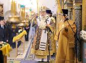 Предстоятель Русской Церкви совершил Божественную литургию в Зачатьевском монастыре и возглавил хиротонию архимандрита Дионисия (Порубая) во епископа Касимовского и Сасовского