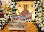 Завершилось пребывание в России великой христианской святыни — ковчега с Поясом Пресвятой Богородицы