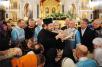 Ночной молебен перед ковчегом с Поясом Пресвятой Богородицы в Храме Христа Спасителя