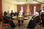 В Ереване состоялась трехсторонняя встреча религиозных лидеров России и Закавказья
