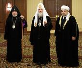 Совместная декларация участников трехсторонней встречи религиозных лидеров России и Закавказья