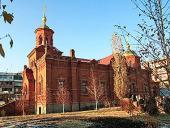 Святейший Патриарх Кирилл посетил русский храм в честь Покрова Божией Матери в Ереване
