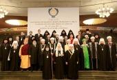 Предстоятель Русской Православной Церкви принял участие в заседании Президиума Межрелигиозного совета СНГ