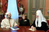 Состоялась встреча Святейшего Патриарха Кирилла с председателем Управления по делам религий при Правительстве Турецкой Республики Мехметом Гёрмезом