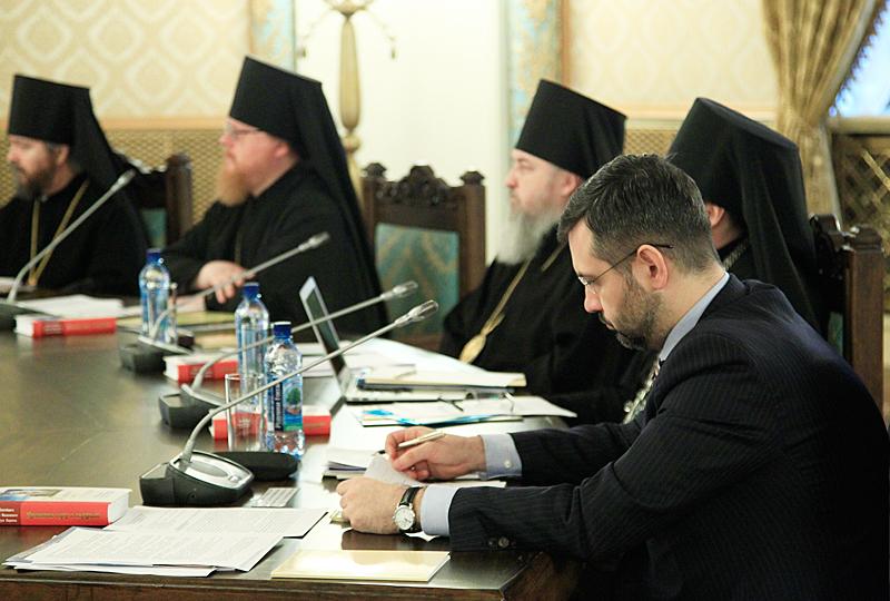 Заседание Высшего Церковного Совета в Храме Христа Спасителя