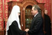 Предстоятель Русской Церкви и губернатор Курганской области обсудили вопросы возрождения Свято-Успенского Далматовского монастыря