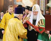 Патриарший архидиакон Андрей Мазур награжден высшим орденом Русской Православной Церкви