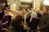 Патриаршее служение в Храме Христа Спасителя в день памяти святителя Филарета. Хиротония архимандрита Владимира (Самохина) во епископа Скопинского и Шацкого