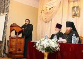 В Перервинской духовной семинарии прошли VIII Платоновские чтения