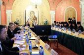Заседание рабочей группы при Президенте РФ по подготовке к празднованию 700-летия со дня рождения преподобного Сергия Радонежского