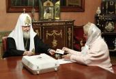 Святейший Патриарх Кирилл принял участие в выборах в Государственную Думу Российской Федерации