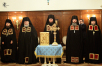 Наречение архимандрита Николая (Погребняка) во епископа Балашихинского, архимандрита Пахомия (Брускова) во епископа Покровского и архимандрита Максимилиана (Клюева) во епископа Братского
