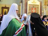 Слово Святейшего Патриарха Кирилла при вручении архиерейского жезла Преосвященному Феодосию (Гажу), епископу Бишкекскому и Киргизскому