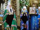Святейший Патриарх Кирилл благословил казаков — участников памятных мероприятий, посвященных 200-летию Отечественной войны 1812 года