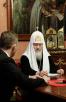 Встреча Святейшего Патриарха Кирилла с Уполномоченным при Президенте РФ по правам ребенка П.А. Астаховым