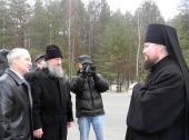 Епископ Касимовский и Сасовский Дионисий прибыл к месту своего служения