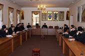 В Общецерковной аспирантуре начались двухнедельные курсы повышения квалификации для новоизбранных архиереев