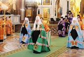 Проповедь Святейшего Патриарха Кирилла в день памяти великомученицы Варвары в Храме Христа Спасителя