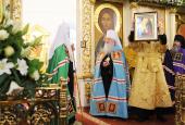 Слово Святейшего Патриарха Кирилла в неделю 27-ю по Пятидесятнице после Литургии в Богоявленском соборе г. Ногинска