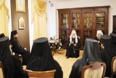 Святейший Патриарх Кирилл встретился со слушателями курсов повышения квалификации для новоизбранных архиереев