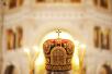 Патриаршее служение в Храме Христа Спасителя в день памяти великомученицы Варвары. Хиротония архимандрита Тарасия (Владимирова) во епископа Балашовского и Ртищевского