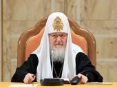 В докладе Святейшего Патриарха Кирилла на Епархиальном собрании города Москвы подведены итоги Патриаршего служения в 2011 году