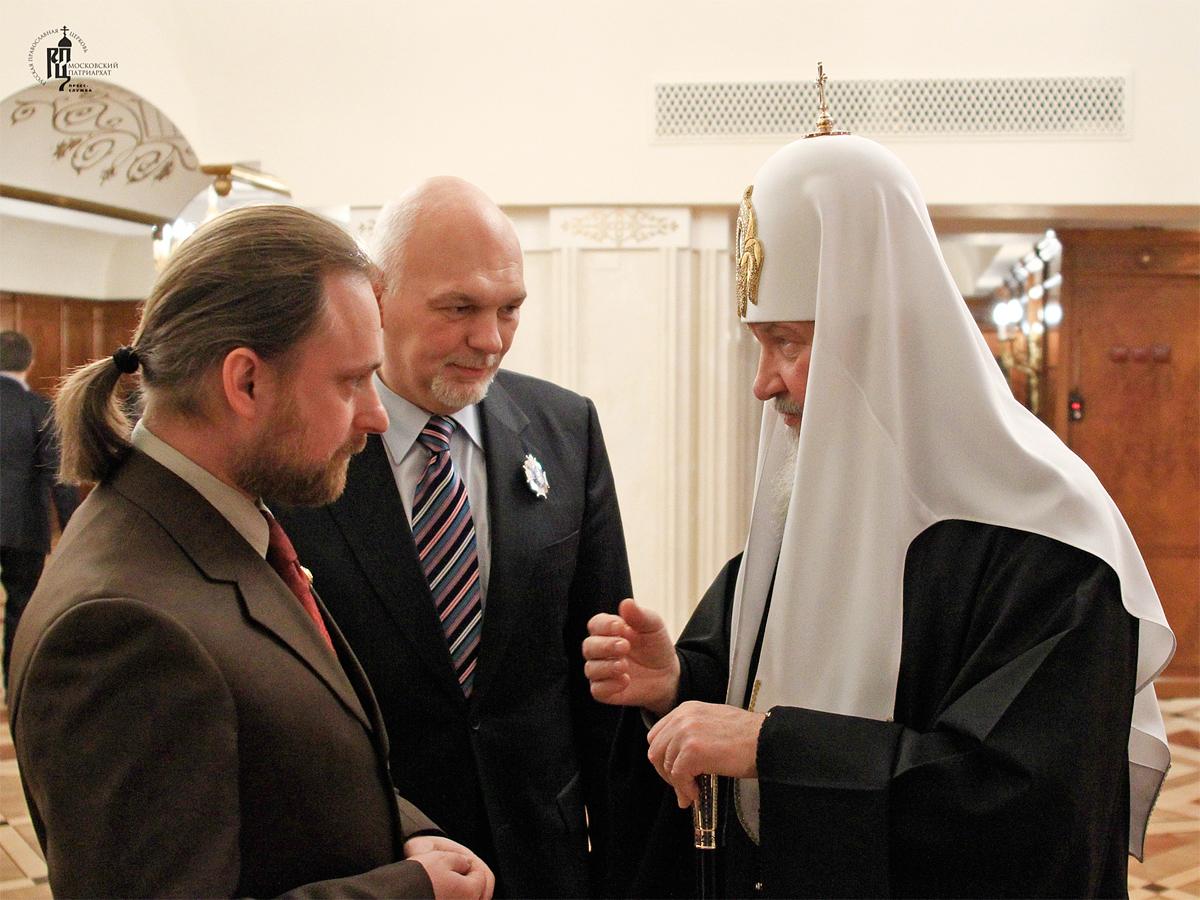Поздравление редакции «Журнала Московской Патриархии» с 80-летием издания