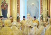 Предстоятель Русской Церкви возглавил хиротонию архимандрита Стефана (Гордеева) во епископа Алатырского, викария Чебоксарской епархии