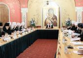 Святейший Патриарх Кирилл возглавил четвертое заседание президиума Межсоборного присутствия
