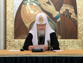 Слово Святейшего Патриарха Кирилла на четвертом заседании президиума Межсоборного присутствия Русской Православной Церкви